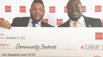 Wells Fargo- Anthony Phillips & Joseph Mackie Check Presentation. 2