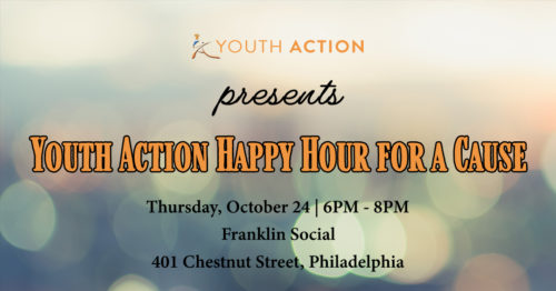 Youth Action Happy Hour image banner